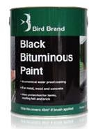 5L Bird Brand Black Bitumen Paint