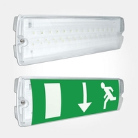 LED Maintained Emergency Bulkhead