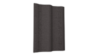LAGAN DOUBLE ROLL TURF BROWN ROOF TILE (216 PER PALLET) (10 PCES PER SQ.MTR)