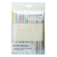 Rushmere Butter Muslin 90x75cm