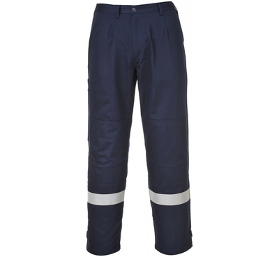 FR26 Bizflame FR AST Trousers Navy c/w Reflective Strips