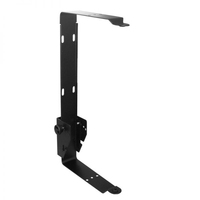 W Audio PSR 8 Black Speaker Bracket