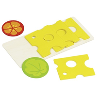 wooden toy cheese set