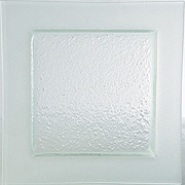 Gobi Plate Square Frosted Edge 320mm Carton of 6