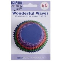 BC727 WONDERFUL WAVES BAKING CUPS