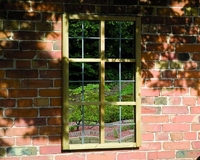 Grange Mirror Tudor Window
