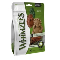 Whimzees Pouch Hedgehog Chew - X-Large 3-Pack x 1