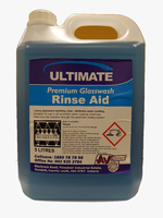 Ultimate Premium Glass Rinse Aid 2 x 5Ltr