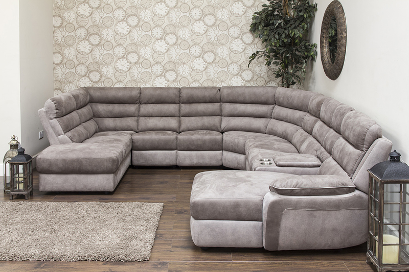 Urban Modular Sofa Brown Grey Sofa House