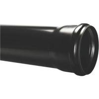 Soil Pipe 110mm ( 4 inch ) x 4 Metre Socketed Black