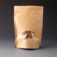 250g Kraft Stand up pouch