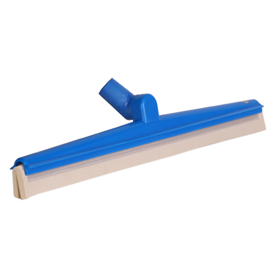 Double blade squeegee with pivot head – white cartridge