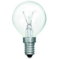 TOUGH LAMP - GOLF BALL 45MM   240/50V 40WATT SES/E14 CLEAR