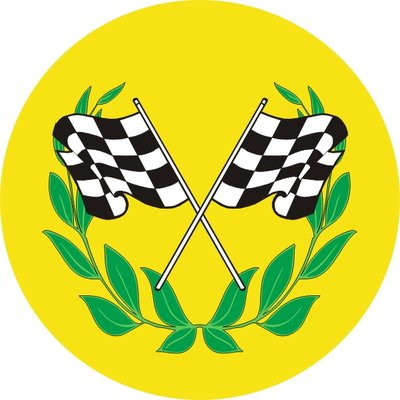 Motor - Chequered Flags (25mm Centre)