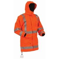 Bison Rigour Hi Vis TTMC-W Fire Retardant Jacket