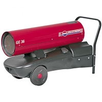 BIEMMEDUE GE36 Direct Diesel/Kerosene Space Heater