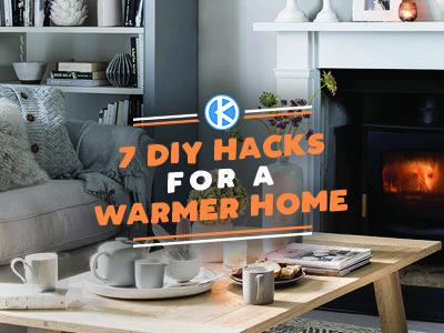 7 DIY Hacks for a Warmer Home