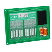 First Aid - Eye Wash Pod Dispensing Station