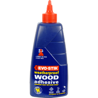 EVO-STIK RESIN W WEATHERPROOF WOOD GLUE 500ML