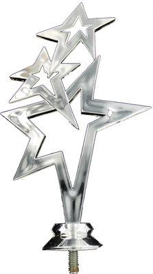 150mm Running Stars Figure Silver