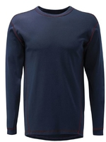 EDDISON FR ARC NAVY BASE LAYER SHIRT