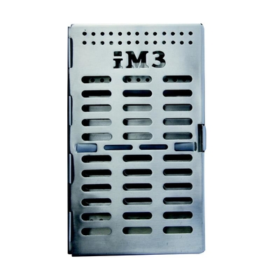 Instrument Tray/Case St/St 20.5 x 12 x 3cm iM3