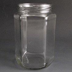 720ml hexagonal jar