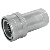 ISO Flat Face Quick Release Plug