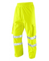 Leo Instow Breathable Executive Cargo Overtrouser Yellow