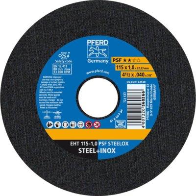 Pferd Cutting Disc 115X1 A60 PSF STEELOX (order qty x25)