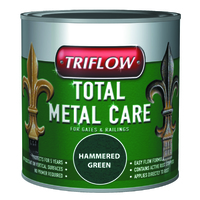Triflow Metal Care For Gates & Railings 250ml Silver Hammered
