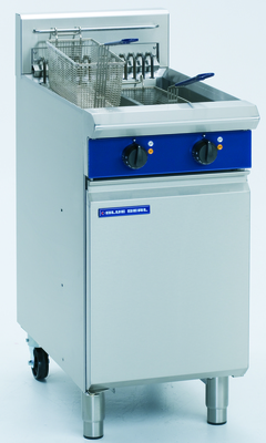 Blue Seal Electric Fryer Twin Tank 450x812x1085mm 17kw