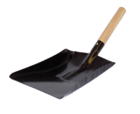 6 Inch Shovel Black