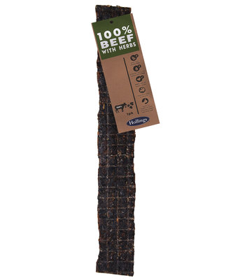 Hollings 100% Natural Beef Large Bar with Herb x 15