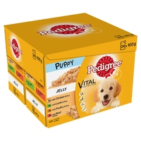 Pedigree Pouches Puppy 100g 24-pack x 2