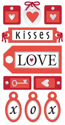 Love Tags Essential Craft Sticker.