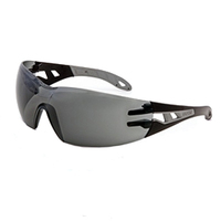 Uvex Pheos Supravision Safety Spectacles, Grey Lens