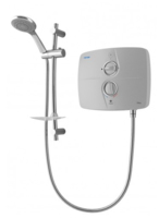 TRITON T90SR SATIN/CHROME 9KW PUMPED ELECTRIC SHOWER