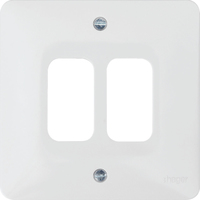 2G White Moulded Plate | LV0301.0616