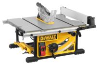Dewalt DWE7492 110v 1700w 10'' 250mm Table Saw 4800rpm Cutting Depth 90° 77mm 45° 55mm Cutting Width Right 825mm Left 558mm 26.6kg