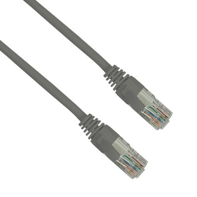 CAT6 High Quality Patch Lead 0.3mtr - Grey
