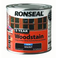 5 Year Woodstain 250ml Smoked Walnut