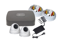 4CH 1TB DVR and 2 x 1080P 2.8mm IR White Dome Cams