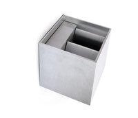 ONE Light Cube Aluminium Adjustable LED Wall Light 2x3W LED Warm White IP54