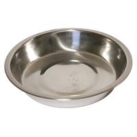 "Dog Life Stainless Steel Shallow Bowl 6"" x 1"