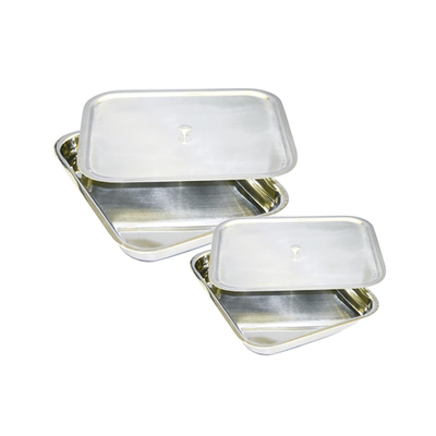 Stainless Steel Tray and Lid
