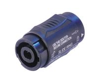 Neutrik NL4MMX   Lockable 4 Pin speakON adapter
