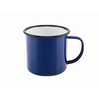 Mug Coloured Enamel Blue 36cl 12.5oz