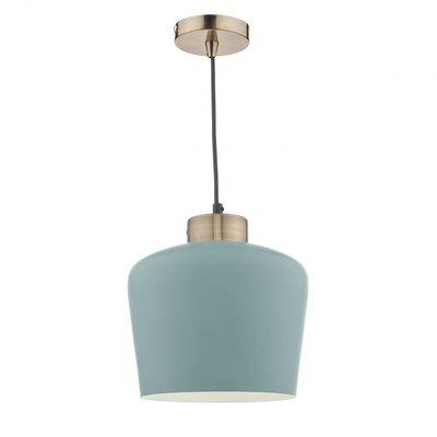 Sullivan 1 Light Pendant, Blue Grey/Copper | LV1802.0098