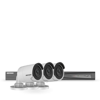 Hikvision IP 8MP 4K 3 Camera CCTV Kit